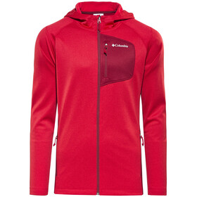 Columbia Jackson Creek II Hoodie Men Mountain Red Heather